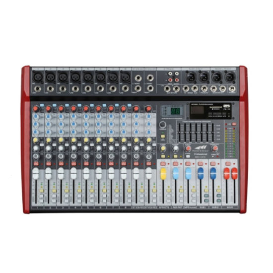 New Arrival Mr Series Audio Mixer with DSP Mr-12fx