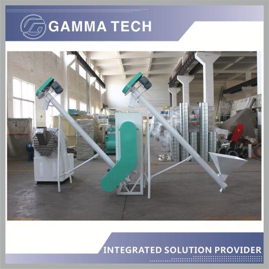 500kg-800kg Per Hour Feed Machine Wtih Granulator and Grinding Machine