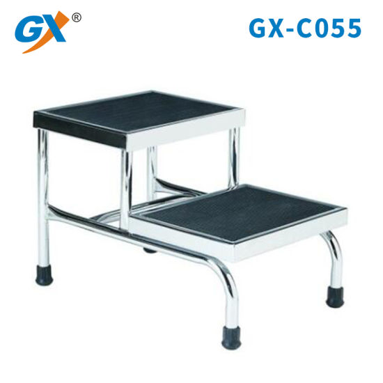 Stainless Steel Hospital Two Step Stool Step Ladder