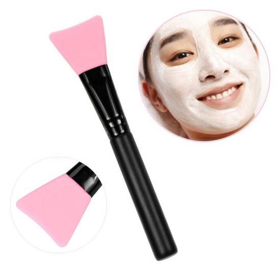 Wholesale Plastic Handle with Silicone Brushes Facial Mini Silicon Mask Brush Kit