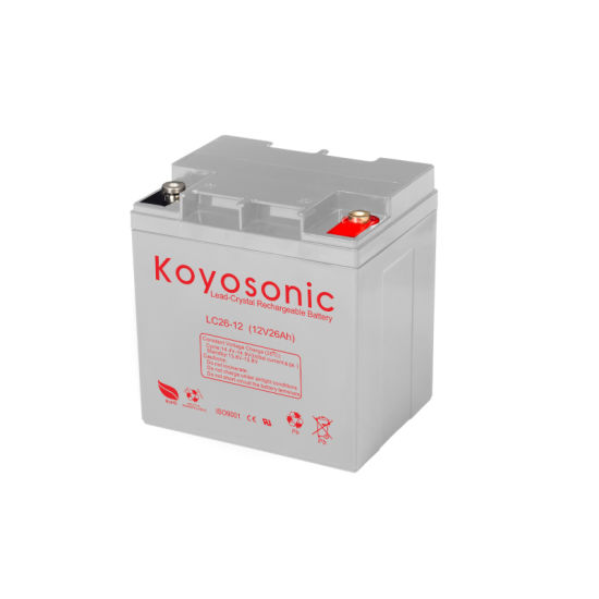 Deep Cycle Lead Crystal Battery 12V with 3000 Cycles at 30% Dod