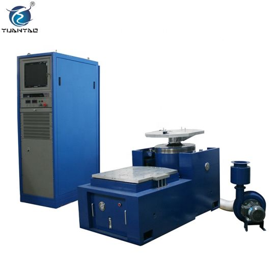 Electromagnetic Shaking Computer Control High Frequency Vertical and Horizontal Vibration Test Machine