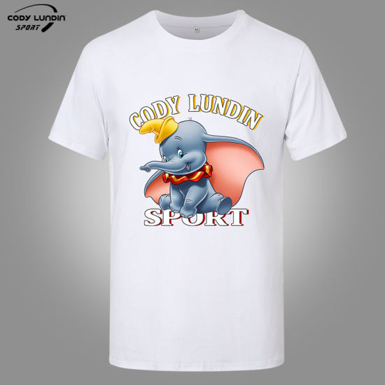 OEM Cotton Polo Short/Long Sleeve Sport Printed Custom Printing T Shirt for Man