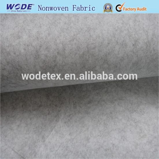 100% Polyester Eco-Friendly Mixed Color Needle Punched Nonwoven Fabric