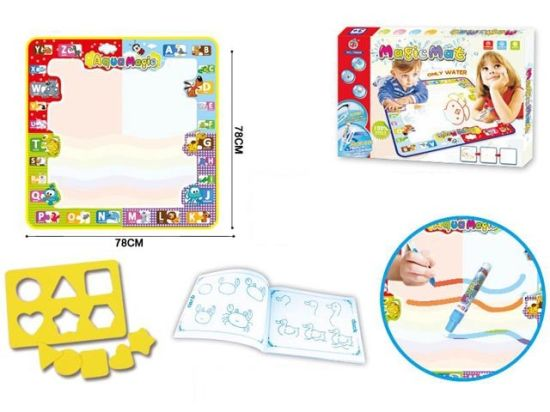 Aqua Magic Doodle Mat Large Educational Water Drawing Mat for Kids pictures & photos