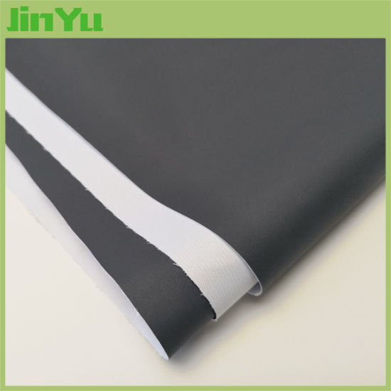 260GSM Black Back Dye Sublimation Print Backdrop Fabric pictures & photos