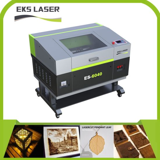 Wood Cloth Acrylic Nonmetal CO2 Laser Processing Machine Es-1610