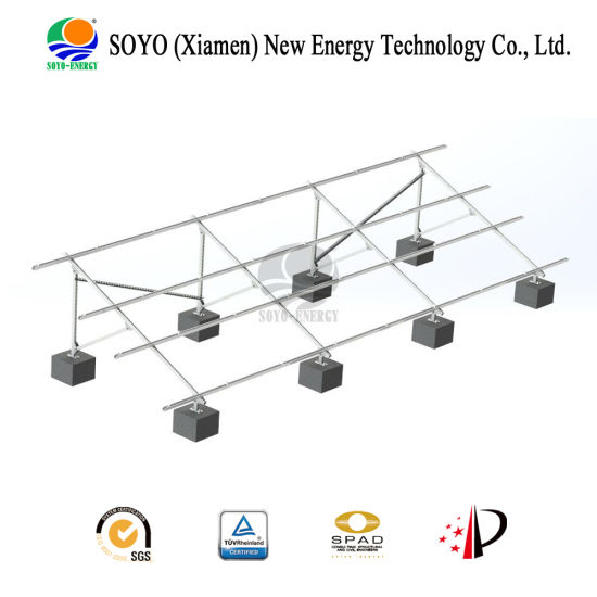 Soyo Energy Carbon Steel Solar Bracket (grounded base) pictures & photos