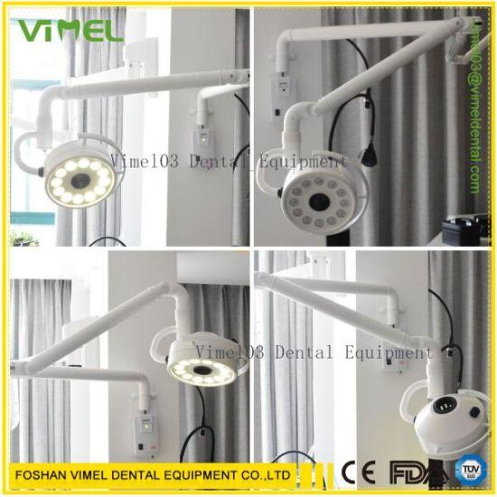 Wall-Mounted Shadowless Dental LED Operating Lamp Examination Light