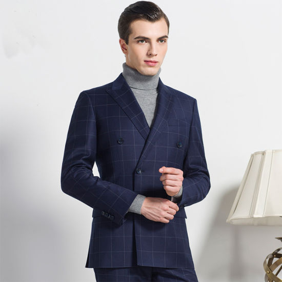 Formal Dress Coat High Quality Men′ S Business Suit