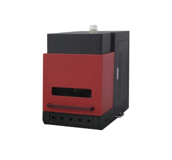 Manual or Motorized Type Desk Style Fiber Laser Marking Cabinet