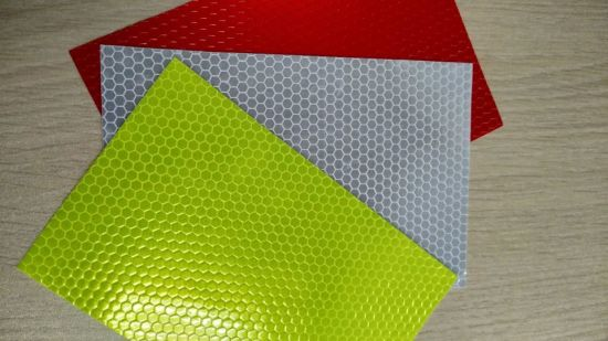 Honeycomb Reflective Color Vinyl Sticker for Printing