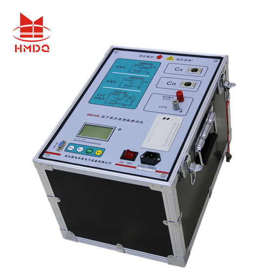 Different Frequency Anti-Interference Transformer Capacitance and Tan Delta Test 10kv Dielectric Loss Insulation Power Factor Tester pictures & photos