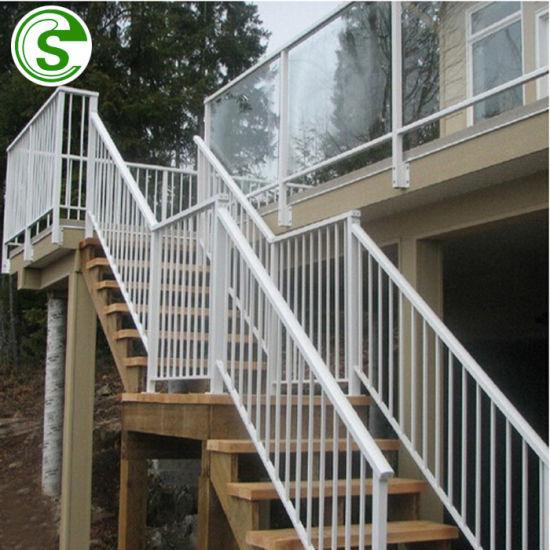 Supply Stair Railing Hot Galvanizing Price Wrought Iron