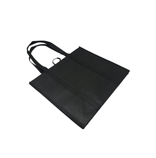 Reusable Grocery Bags - (Set of 5) - Hold 35+ Lbs, Premium Quality, 120GSM Thick, Heavy Duty Shopping Bags