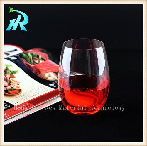 Pet Tritan Stemless Acrylic Wine Glasses