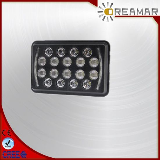 Auto Lighting System Super Bright 7inch 5*7 Square LED Headlight for Truck