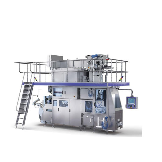 Aseptic Milk Packaging Machine Milk Making Line pictures & photos