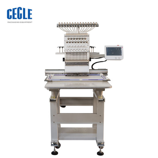 Popular Multi Head Chainstitch Cording Embroidery Machine, Wholesale Bed Sheets T Shirt Socks Embroidery Machine for Clothes