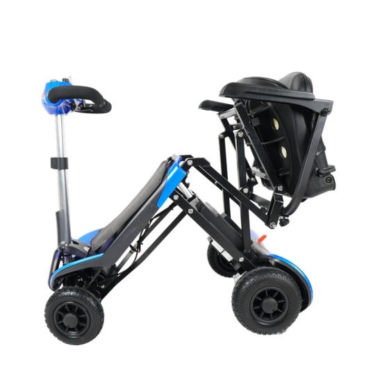 Lightweight Portable Auto Folding Electric Mobility Scooter