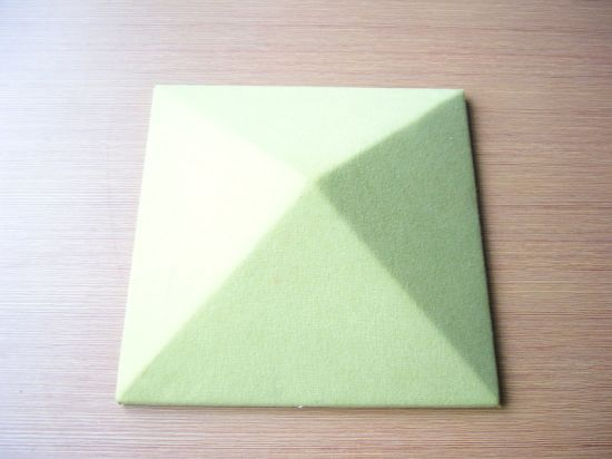 China Lowes Fiberglass Acoustic Fabric Absorb Sound Wall Panels For