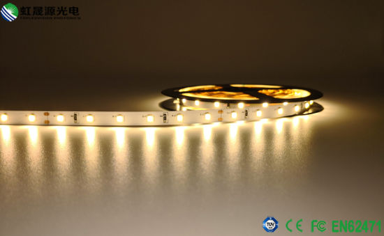 High Bright 24-26lm/LED LED Strip Lamp 12W/M 2835 24VDC pictures & photos