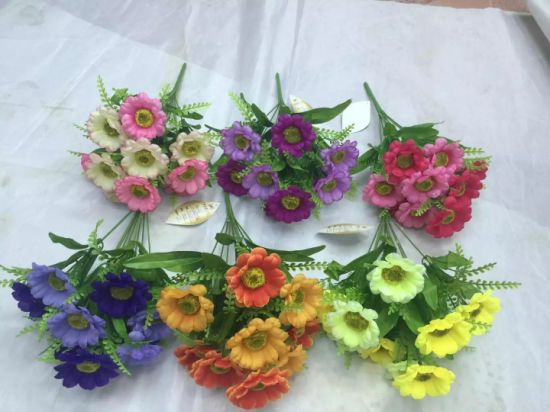 High Quality of Artificial Flowers of Wild Flowers Bush Gu-Jys-00093 pictures & photos