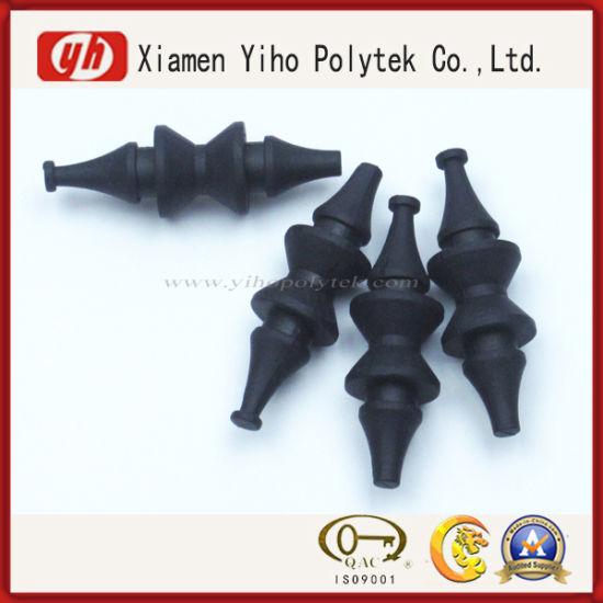 Customized Black Pump Parts / Rubber Feet Sheet