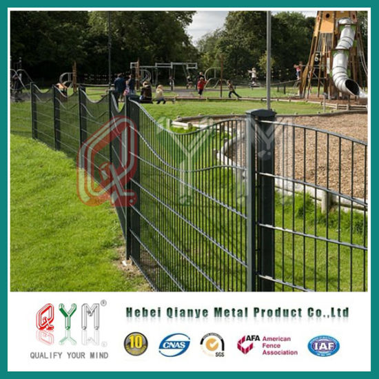 China Ornamental Double Loop Wire FenceDouble Wire Fencing Factory