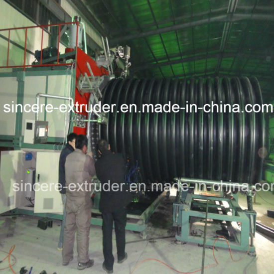 HDPE Structure Wall Pipe Extrusion Machine 2200mm pictures & photos