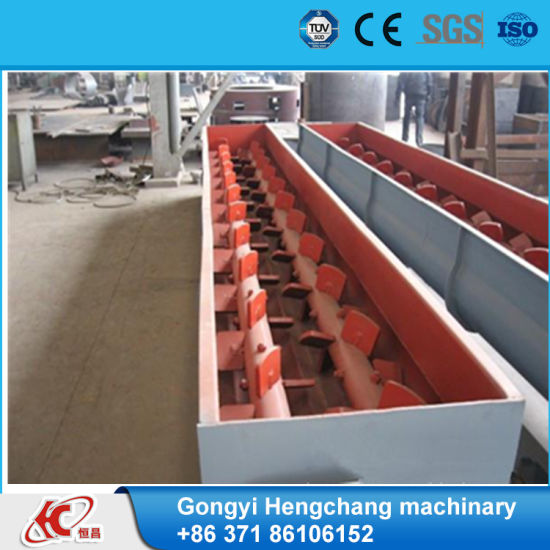 High Quality Charcoal Coal Double Shaft Mixer pictures & photos
