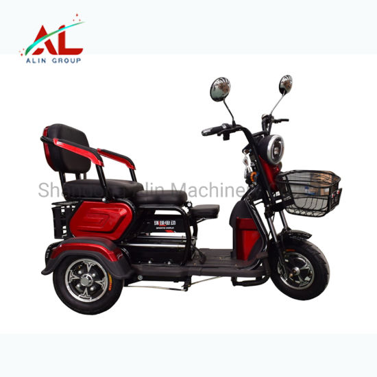 Al-Xk Tricycles for Disabled Electric Tricycle Motor 60V 1000W Parts Folding Electric Mobility Scooter Tricycle