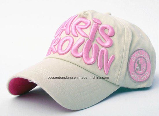 OEM Produce Customized Logo Embroidered Cotton Promotional Baseball Cap pictures & photos