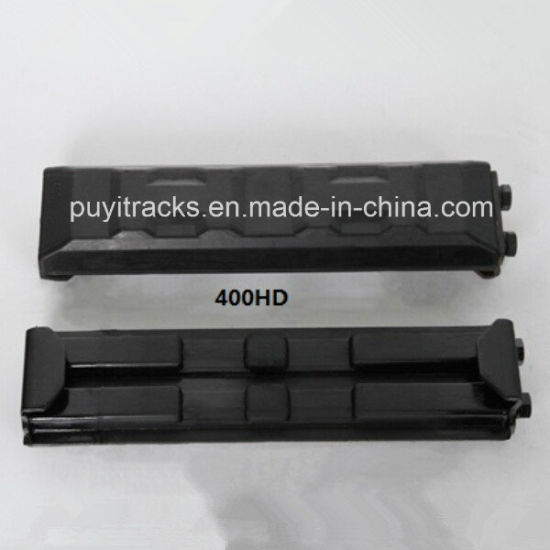 400HD Excavator Rubber Pad (clip on type) pictures & photos