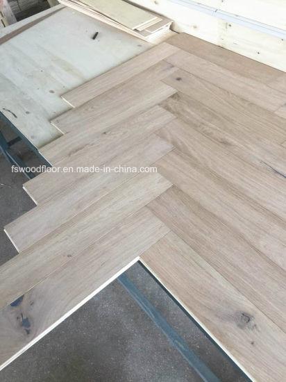 China Multi Layer American Oak Fishbone Parquet Flooring China