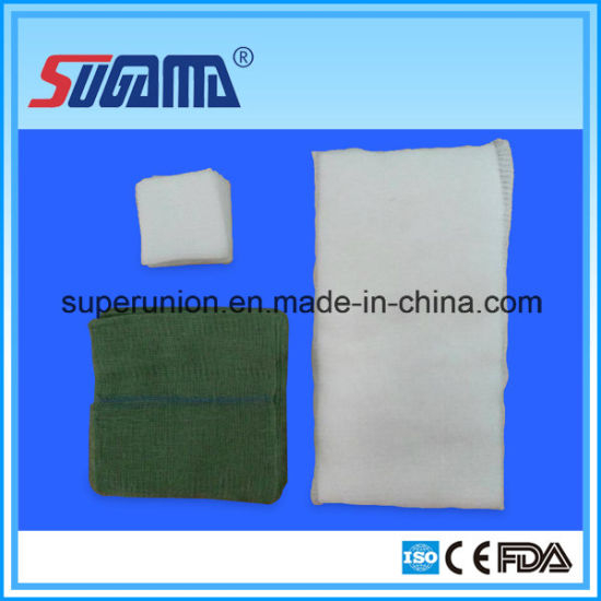 Cotton Non-Sterile Gauze Sponges for Medical Use pictures & photos