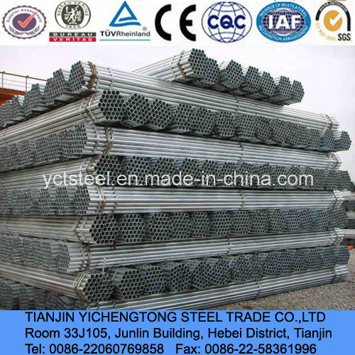 Q235 Square Galvanized Pipe-Hot Dipped Galvanized Q235 pictures & photos