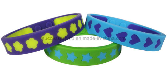 Personalized Silicone Wristband Bracelet