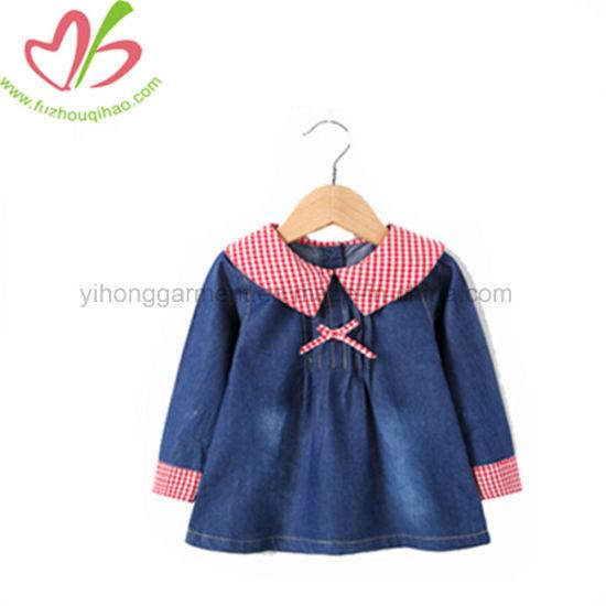 a29f2e5f7 China Winter Hotsale Little Girl Boutique Plaid Dress - China Girl ...