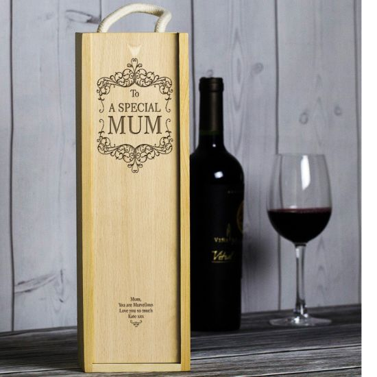 Hotsale Customized Wooden Red Wine Box with Cheaper Price pictures & photos