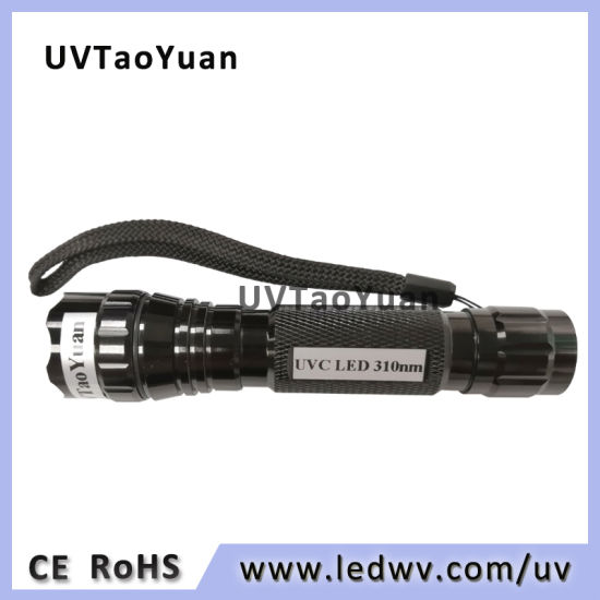 High Power 10-15MW UV LED 310nm Torch Light