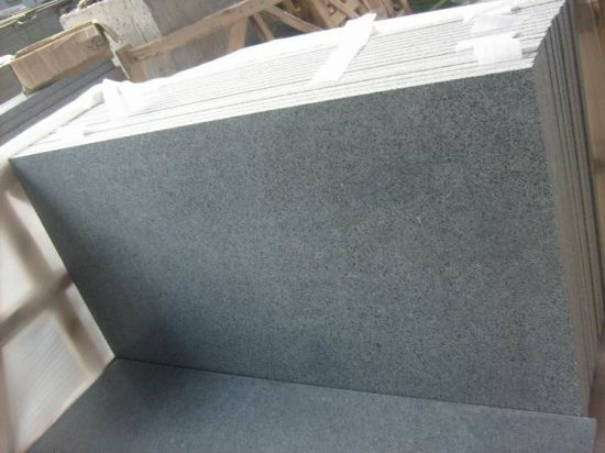 Padang Dark G654 Granite Tile for Paving Wall Cladding pictures & photos