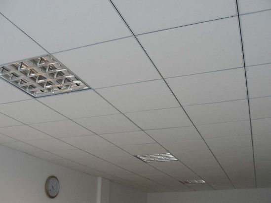 China design acoustic sound absorption suspended gypsum