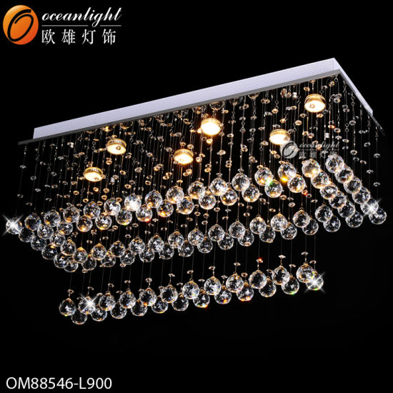 Modern LED Head Crystal Lighting with Hotel, Restaurant or Offices