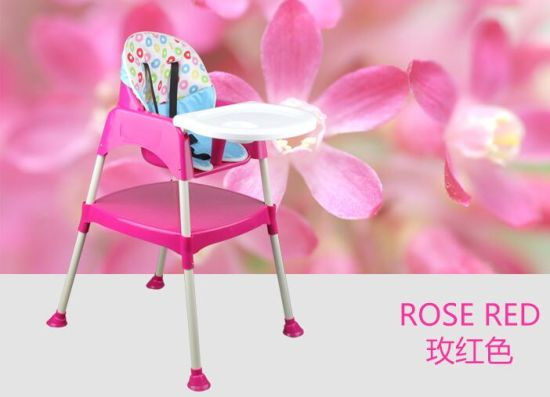 En71 Certificated Plastic Chair High Baby Chair Dining Chair/Highchair to Over Sea Market
