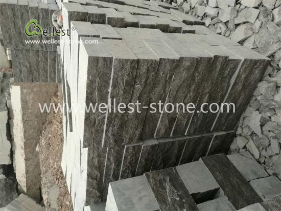 Stone Steps, Bluestone Steps, Blue Limestone Split Face Stone Steps pictures & photos