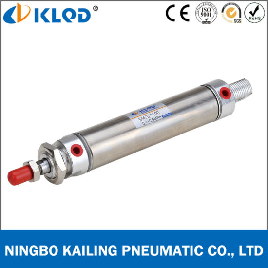 Ma Series Stainless Steel Double Acting Pneumatic Cylinder pictures & photos