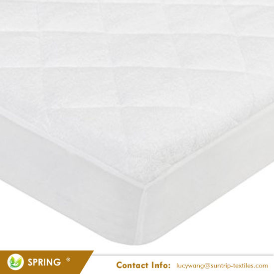 Waterproof And Breathable Bamboo Baby Mattress Pad Fits All Standard Crib Sizes Cover