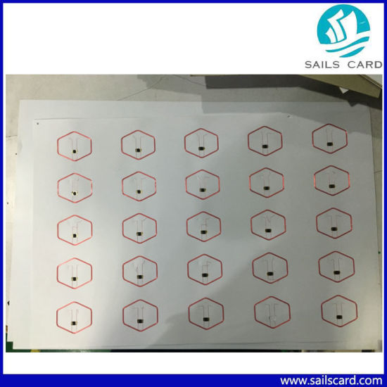 125kHz/13.56MHz RFID Keytag Prelam/Inlay pictures & photos