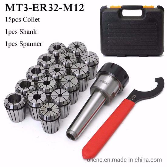 METRIC MT3-ER32 COLLET PRECISION SET 6pcs Collets ACCURATE NEW